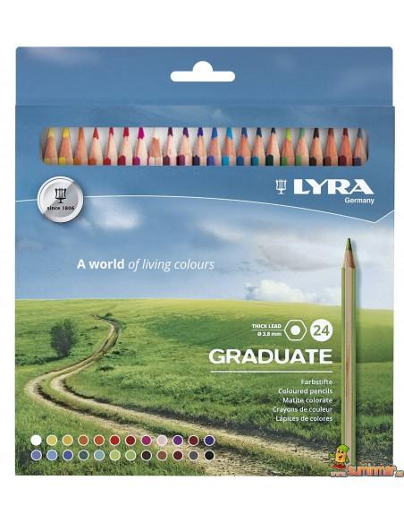 LYRA Graduate Caja de lápices de colores