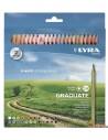 LYRA Graduate Caja de lápices de colores 24 ud