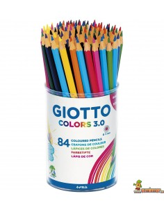 Lápices de colores Giotto Colors 3.0 Schoolpack 84 ud