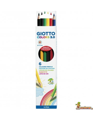Lápices De Colores Giotto Colors 3.0 6 ud