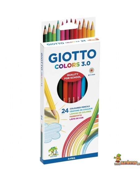 Lápices De Colores Giotto Colors 3.0