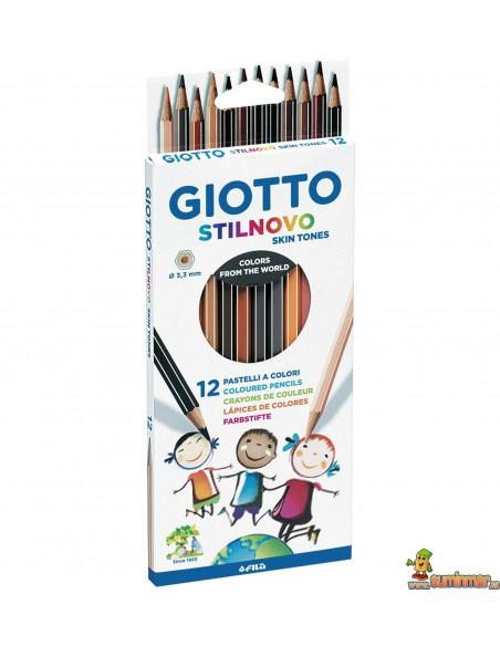 Giotto Stilnovo Skin Tones Lápices de colores