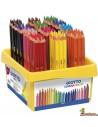 Lápices de colores Giotto Mega Tri Schoolpack 144 ud