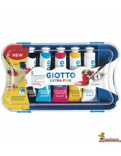 Estuche Témperas Giotto 21 ml