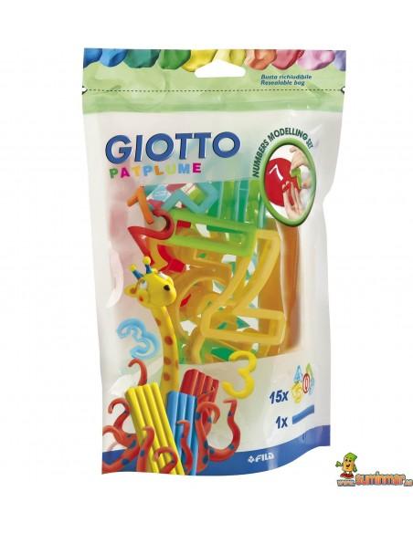 Moldes para plastilina Giotto (Números)