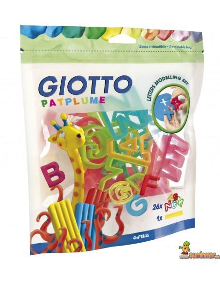 Moldes para plastilina Giotto (Letras)