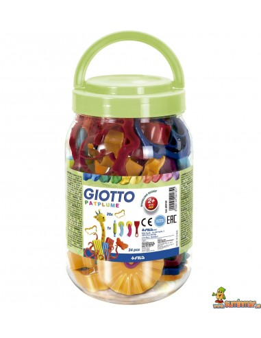 Moldes para plastilina Giotto (Bote surtido) 95 piezas
