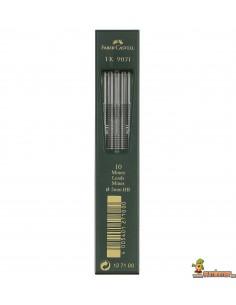 Minas 2.0mm HB 10ud Faber Castell