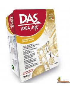 Pasta Para Modelar 100 g Das Idea Mix Amarillo Imperial