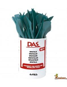 Espátulas de plástico para modelar 24 uds