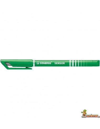 Stabilo Sensor Bolígrafo con punta amortiguada Verde