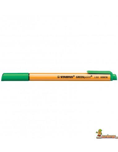 Rotulador Stabilo GREENpoint VERDE