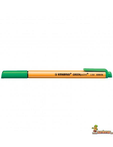 Stabilo GREENpoint 87% plástico reciclado