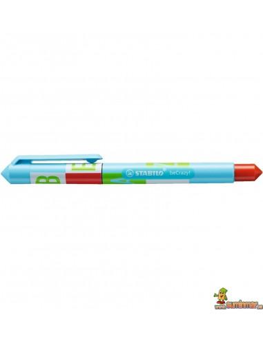 Roller Stabilo beCrazy! - Type hielo azul