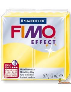 FIMO Effect 57g Pasta para modelar 8020-104 Amarillo translúcido