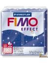 FIMO Effect 57g Pasta para modelar 8020-302 Azul con purpurina