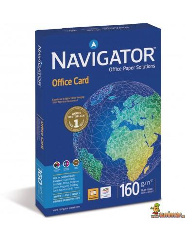 Navigator Office Card A4 160g 250 hojas