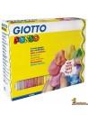 Plastilina Giotto Pongo Soft 12 x 450g colores surtidos