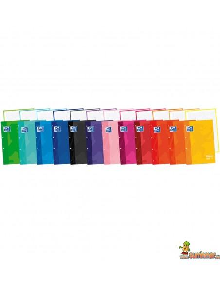 Recambio Encolado Oxford A4 Color Cuadros 5mm European Book 1