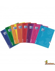 Libreta Oxford A4 Encolada Open Flex Raya Horizontal