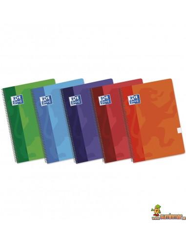 Cuaderno Oxford Tapa blanda. Tamaño Folio. Cuadros 4mm