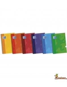 Cuaderno Oxford Tapa dura. Tamaño 4º. Cuadros 4mm