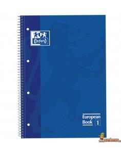 Cuaderno Oxford A4 Tapa dura. Rayas Horizontales. European Book 1