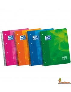 Cuaderno Oxford A4 Tapa de plástico Raya Horizontal European Book 4