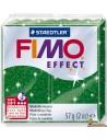 FIMO Effect 57g Pasta para modelar 8020-502 Verde con purpurina