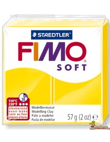 FIMO Soft 57g Pasta para modelar 8020-10 Amarillo limón