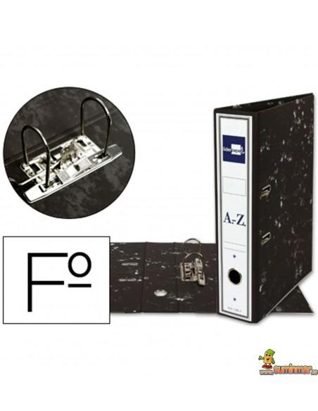 Archivador AZ Tamaño Folio Lomo 75mm Negro