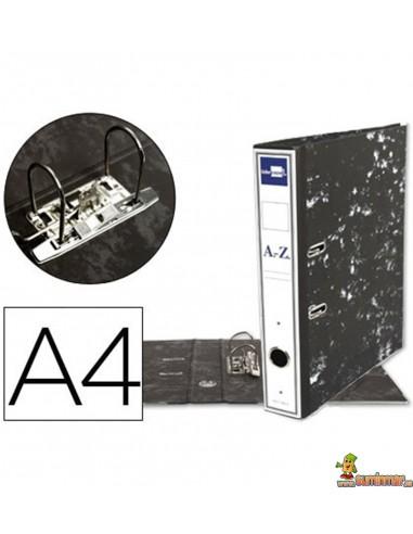 Archivador DIN A4 lomo 75mm negro