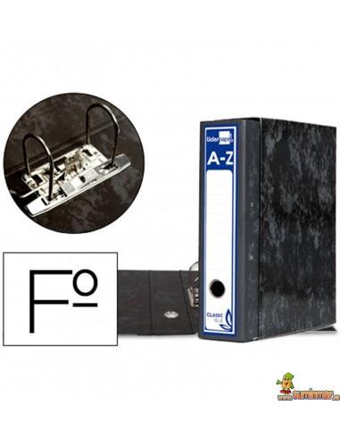 Archivador AZ Tamaño Folio con caja Lomo 80mm Negro
