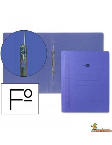 Carpeta de cartón tamaño folio con compresor
