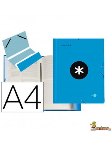 Carpeta Clasificadora Cartón Forrado Serie Antartik. Liderpapel