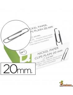 Clips labiados con punta redonda. 100ud. 20mm