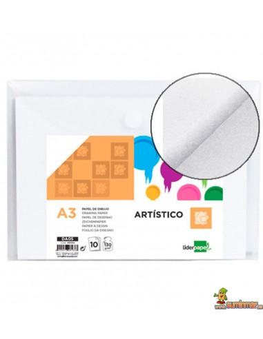 Papel de Dibujo A3 130 g/m² 10 hojas