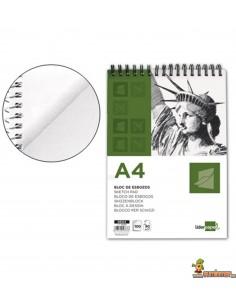 Bloc de Esbozo A4 90 g/m² 100 hojas