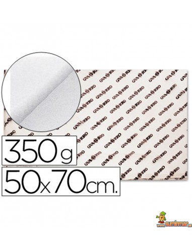Papel Acuarela Canson 50x70 cm 350 g/m²