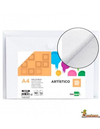 Papel de Dibujo A4 130 g/m² 10 hojas
