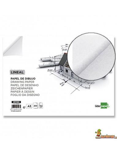 Papel de dibujo A3 150 g/m²