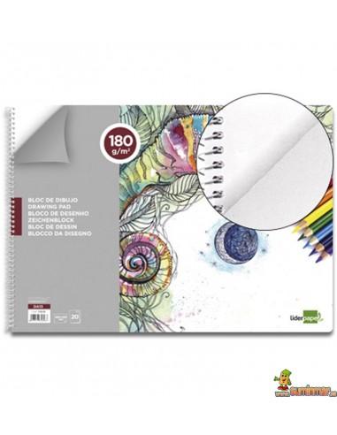 Bloc de dibujo A3 180 g/m² 20 hojas