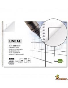 Bloc de dibujo Folio 130 g/m² 20 hojas