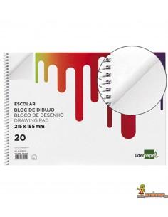 Bloc de Dibujo Cuartilla 90 g/m² 20 hojas