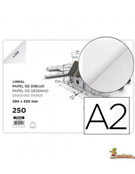 Papel de dibujo A2 150 g/m²