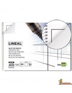 Bloc de dibujo 230x325mm 130g/m2 20 hojas