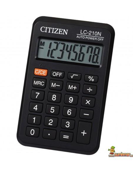 Calculadora De Bolsillo LC-210N Citizen