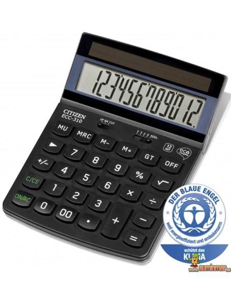 Calculadora De Sobremesa ECC-310 Citizen
