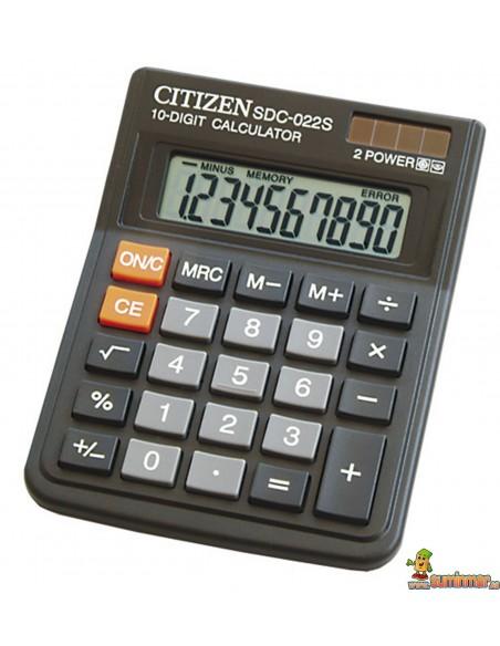 Calculadora De Sobremesa SDC-022S Citizen