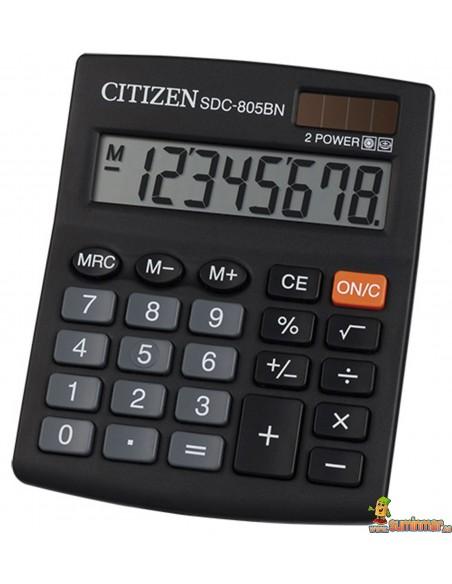 Caculadora De Sobremesa SDC-805BN Citizen
